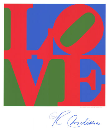 FFPOFP113~Classic-Sky-Love-Red-Green-Blue-Posters